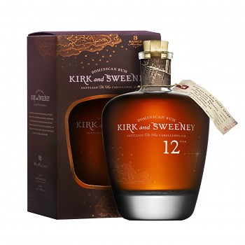 Kirk and Sweeney Rum 12yo 0,7l 40% + dárková krabička