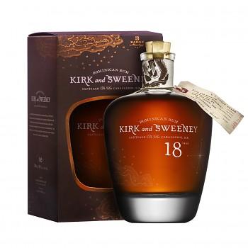 Kirk and Sweeney Rum 18yo 0,7l 40% + dárková krabička
