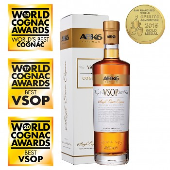 ABK6 VSOP Single Estate Cognac + dárkový kartonek 0,7l 40%