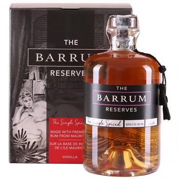 Barrum Single Spiced Rum Vanilla 0,7l 40%