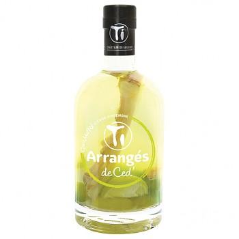 """Ti Rhum Arrangés Lemon Ginger """"GWAMARÉ"""" 0,35l 32%"""