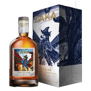Zaka Trinidad Rum 0,7l 42% + dárkový box