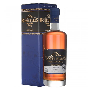 Rozelieures Origine French Single Malt Whisky 0,7l 40% + GB