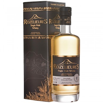 Rozelieures Tourbé French Single Malt Whisky 0,7l 46% + GB