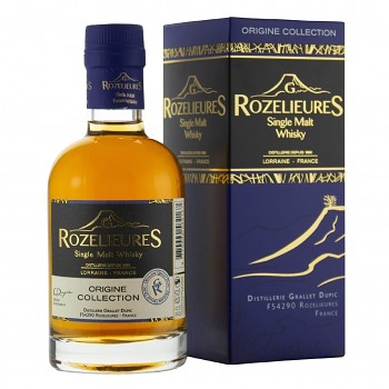 Rozelieures Origine French Single Malt Whisky 0,2l 40% + GB