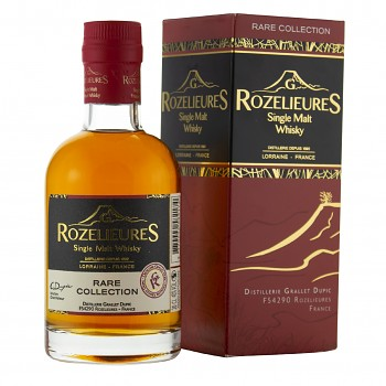 Rozelieures Rare French Single Malt Whisky 0,2l 40% + GB