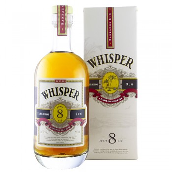 Whisper 8yo Rum 0,7l 40% + dárkový kartonek