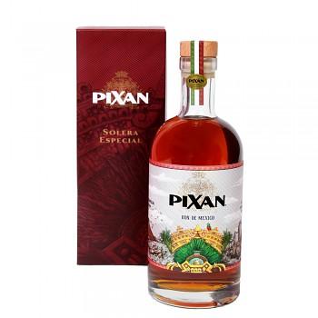 Pixan 8 Solera Especial Red Wine Finish Rum 0,7l 40% + dárkový kartonek