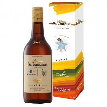 Barbancourt  8yo ***** 0,7l 43%
