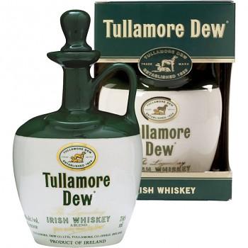 Tullamore Dew Irish Whiskey - keramický džbánek 0,7l 40%
