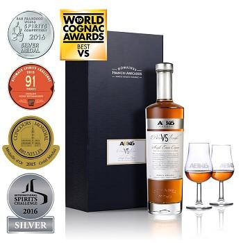 ABK6 VS Single Estate Cognac + 2x sklo 0,7l 40%