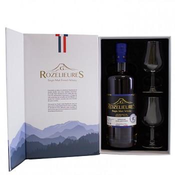 Rozelieures Origine French Single Malt Whisky 0,7l 40% + 2x sklo