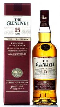 Glenlivet 15yo French Oak Single Malt Whisky 0,7l 40%