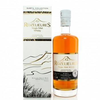 Rozelieures Subtil Single Malt Whisky 0,7l 40% + GB