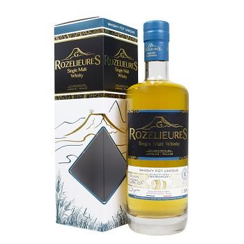 Rozelieures Banyuls Finish LIMITED EDITION French Single Malt Whisky 0,7l 46% + GB
