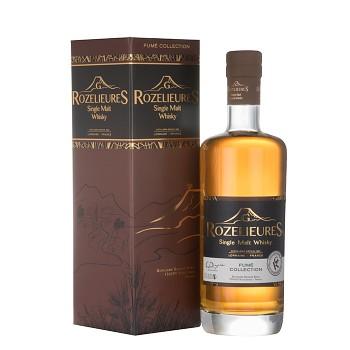 Rozelieures Fumé French Single Malt Whisky 0,7l 46% + GB