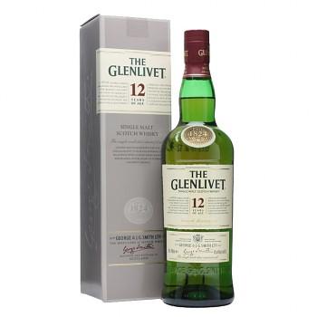 Glenlivet 12yo Speyside Single Malt Whisky 0,7l 40%