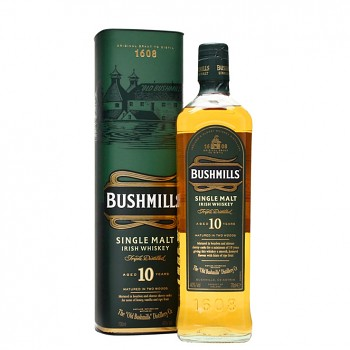 Bushmills 10yo Single Malt Whiskey 0,7l 40%