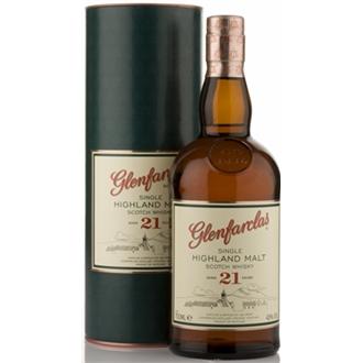 Glenfarclas 21yo Single Malt Whisky 0,7l 43%