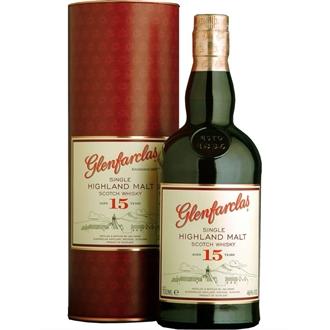Glenfarclas 15yo Single Malt Whisky 0,7l 43%