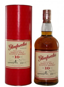 Glenfarclas 10yo Single Malt Whisky 0,7l 43%