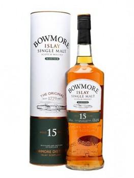Bowmore 15yo Single Malt Whisky 0,7l 43%
