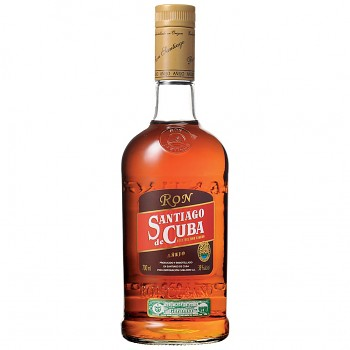 Santiago de Cuba Aňejo Rum 0,7l 38%