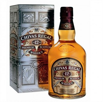 Chivas Regal 12yo v kartónku 1l 40%