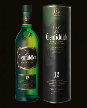 Glenfiddich 12yo Single Malt Scotch Whisky 1l 40%