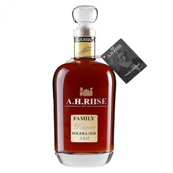 A.H.Riise    Family Reserve Solera Rum 0,7l 42%