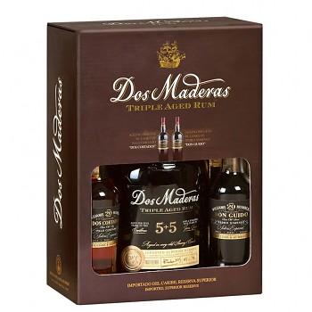 Dos Maderas Rum 5+5y. 0,7l 40% + 2x sherry 20y. 0,1l