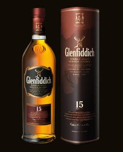 Glenfiddich 15yo Single malt Whisky 0,7l 40%