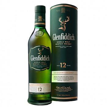Glenfiddich 12yo Single Malt Whisky 0,7l 40%