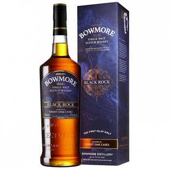 Bowmore Black Rock Single Malt Whisky 1l 40%