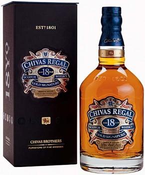 Chivas Regal 18yo Scotch Whisky + dárkový box 0,7l 40%
