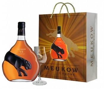 Meukow V.S. Cognac - 2x sklo 0,7l 40%