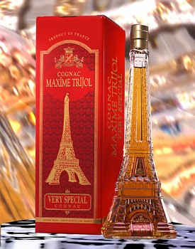 Maxime Trijol VS Cognac - Eiffel Tower 0,5l 40%