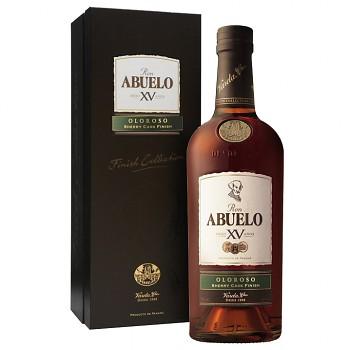 Abuelo XV Oloroso Rum 15yo 0,7l 40%