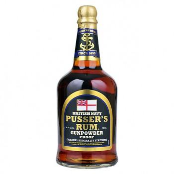 Pussers   British Navy Rum 0,7l 54,5%