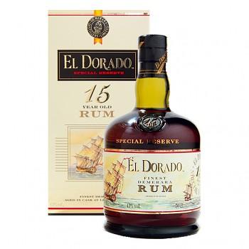 El Dorado Special Reserve 15yo Rum 0,7l 43%
