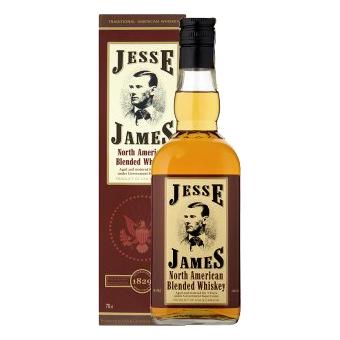 JESSE JAMES whisky dárkový kartónek 0,7L 40%