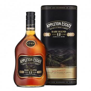 Appleton Estate Rare Blend 12yo 0,7l 43% + dárková tuba