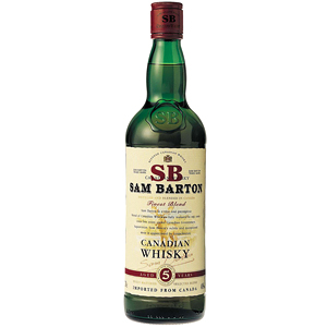 Sam Barton 5yo Canadian Whisky 0,7l 40%