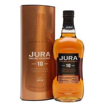 Isle of Jura 10yo Single Malt Whisky 0,7l 40%