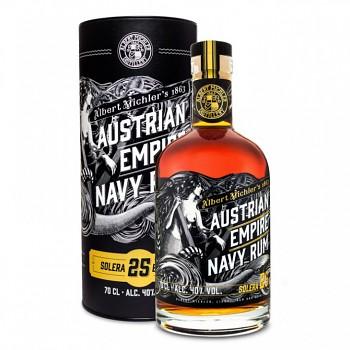 Austrian Empire Navy Anniversary 0,7l  40% + dárková tuba