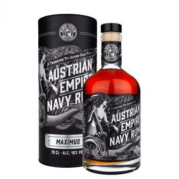 Austrian Empire Navy Maximus 0,7l 40% + dárková tuba