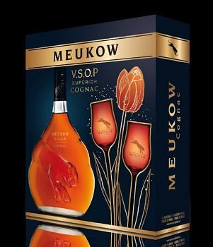 Meukow V.S.O.P. Cognac - 2xsklo 0,7l 40%
