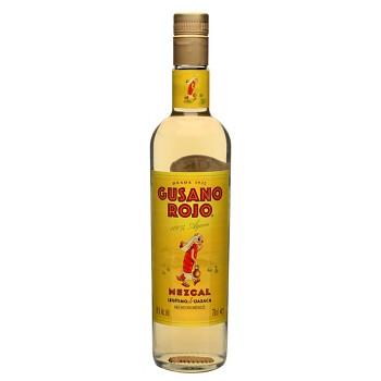 Mezcal Gusano Rojo 0,7l 38%