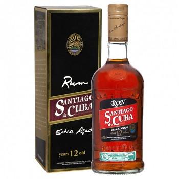 Santiago de Cuba Extra 12yo Rum 0,7l