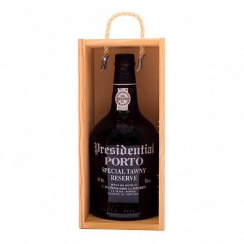 Porto Presidential Special Tawny Reserve 0,75l 19% + dřevěný box